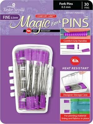 Taylor Seville Magic Pins Fork FINE 30pc (216638)