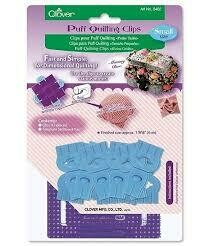Clover Puff Quilting Clips - Small (8402)