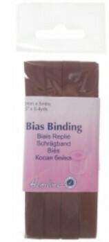 Bias Binding 25mm - Brown