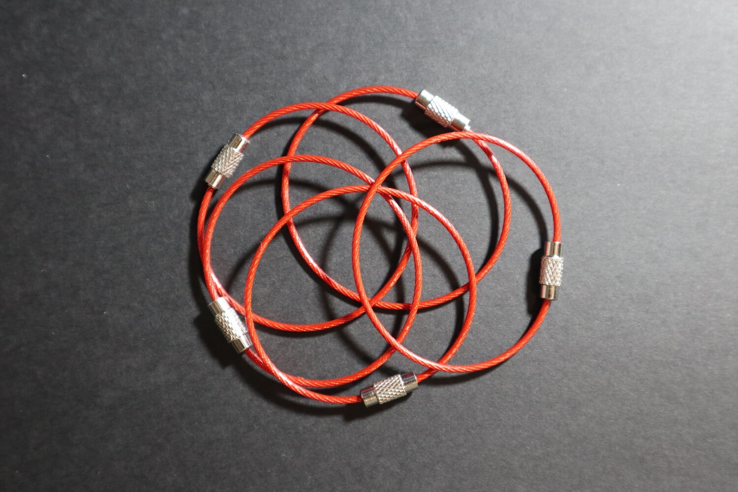 Cable Storage Ring 15cm - Red