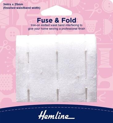 Hemline Fuse & Fold 25mm (765.25)