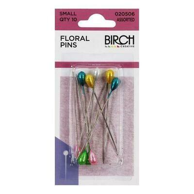 Birch Floral Pins 50mm Floral (020506)