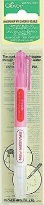 Clover Chacopen with Eraser (Air Erasable) - Pink (5012)
