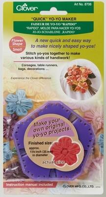 Clover Yo Yo Maker Flower - Small (8706)