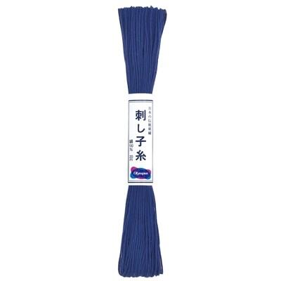 Olympus Sashiko Thread Skein 20m - Cobalt Blue (ST-18)