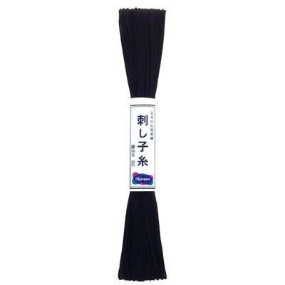 Olympus Sashiko Thread Skein 20m - Black (ST-20)