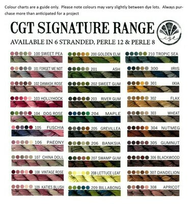 CGT Signature Range Stranded 2306 - Rhubarb Pie
