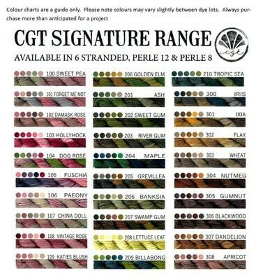 CGT Signature Range Stranded 2403 - Polliwog