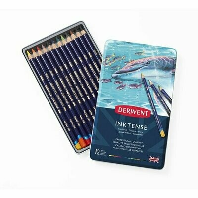 Derwent Inktense Pencils 12pkt