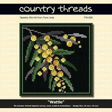 Country Threads Tapestry Mini Kit - Wattle (FTK-008)