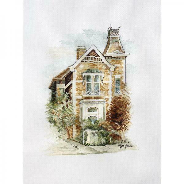 DMC Cross Stitch Kit - Victorian Mansion (577103)
