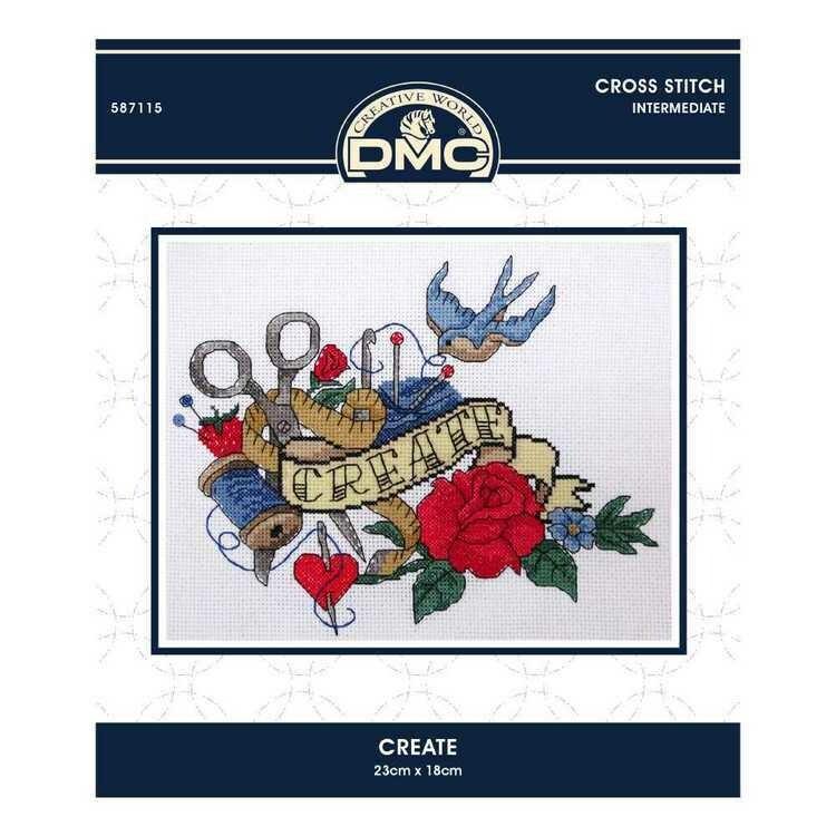 DMC Cross Stitch Kit - Create (587115)