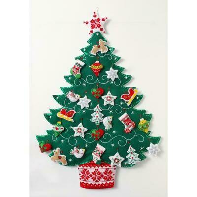 Bucilla - Nordic Christmas Street Advent Calendar (86584)