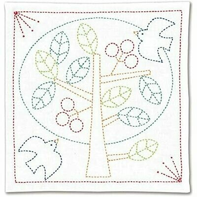 Olympus Sashiko Kit SK328 - Tree of Life