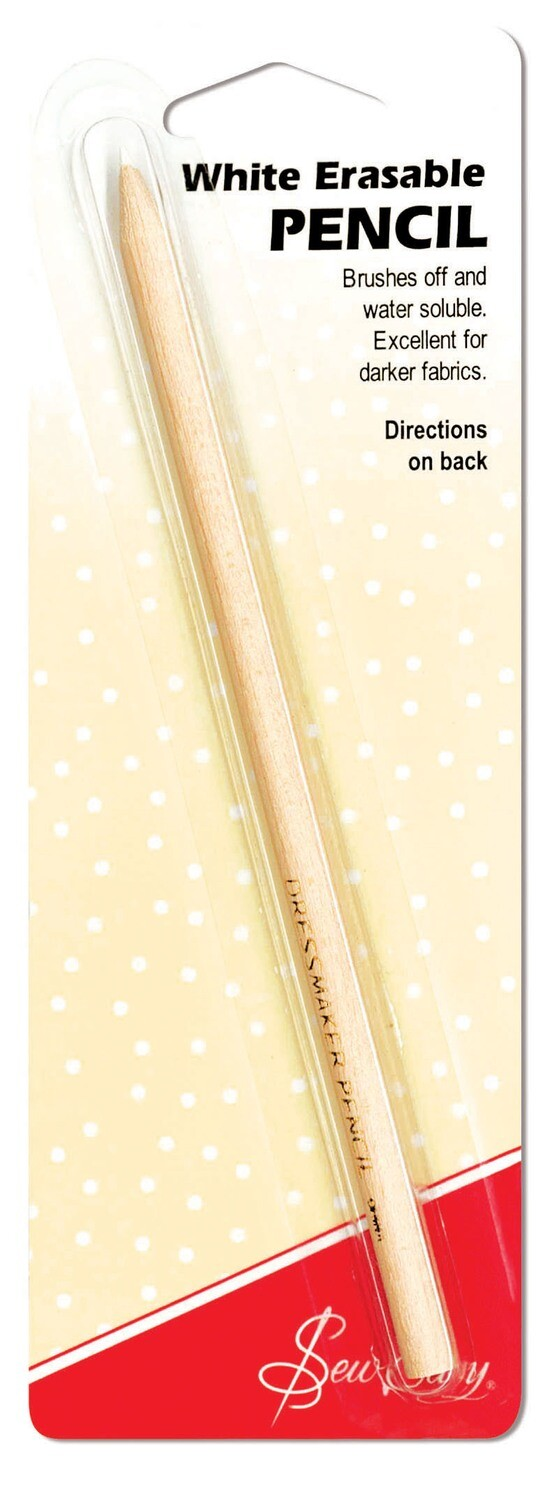Sew Easy Dressmaker's Water Soluble Pencil White (ER299)