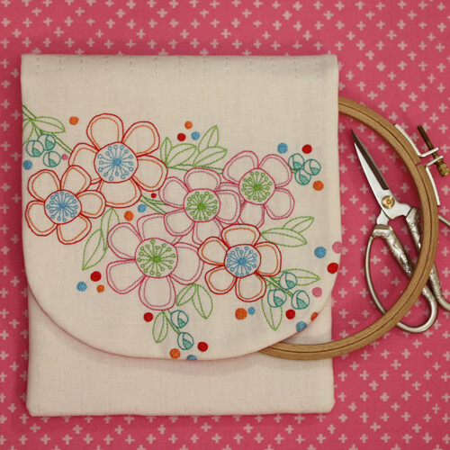 Leanne's House Pattern - Hello Blossom Stitcher's Keeper (LH126)