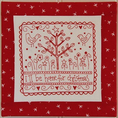 Rosalie Dekker Designs Pattern - Home For Christmas (RQ229)