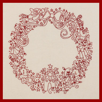 Rosalie Dekker Designs Kit - Christmas Tree Wreath (RQ195)