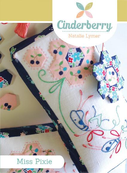 Cinderberry Pattern - Miss Pixie Pincushion (CB116)