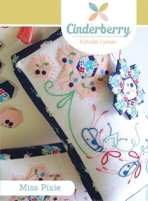 Cinderberry Pattern - Miss Pixie Pincushion (CB116)
