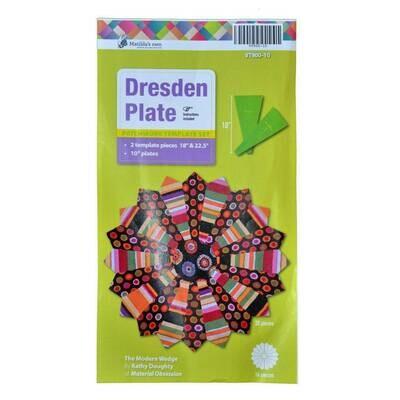 """Template Set Dresden Plate 10"""" 2pc (VT900-10)"""