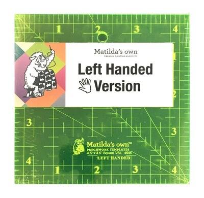"""Template Square Left Handed 4.5"""" (VSLH4545)"""
