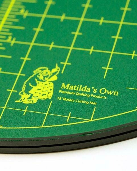 "Rotating Cutting Mat 15"" Self Heal (S242)"