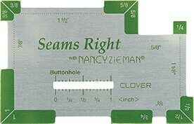 Clover Seams Right by Nancy Zieman (9507)