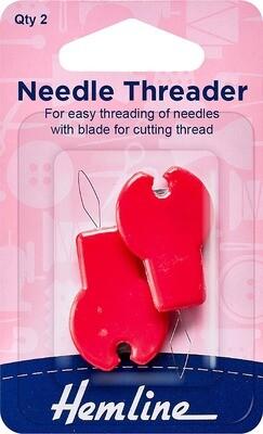 Hemline Needle Threader with Cutter (237)