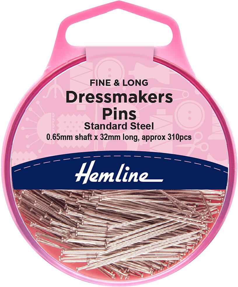 Hemline Dressmakers Pins 25gm (716)
