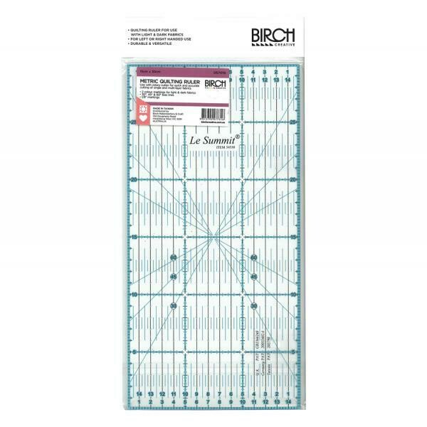 Birch Quilt Metric Ruler - 15cm x 30cm (057016)