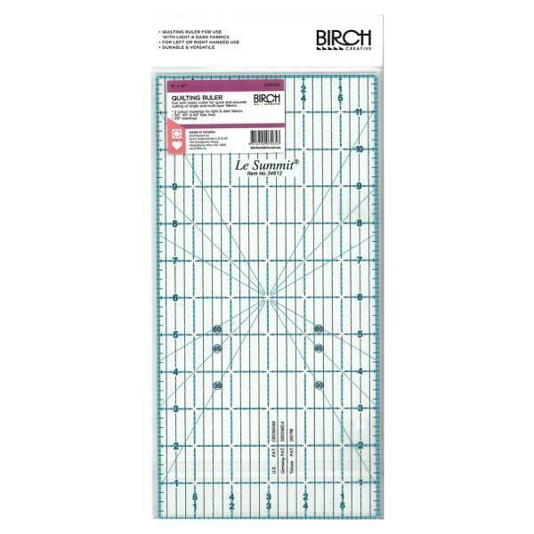 """Birch Quilt Ruler - 6""""x12"""" (020120)"""