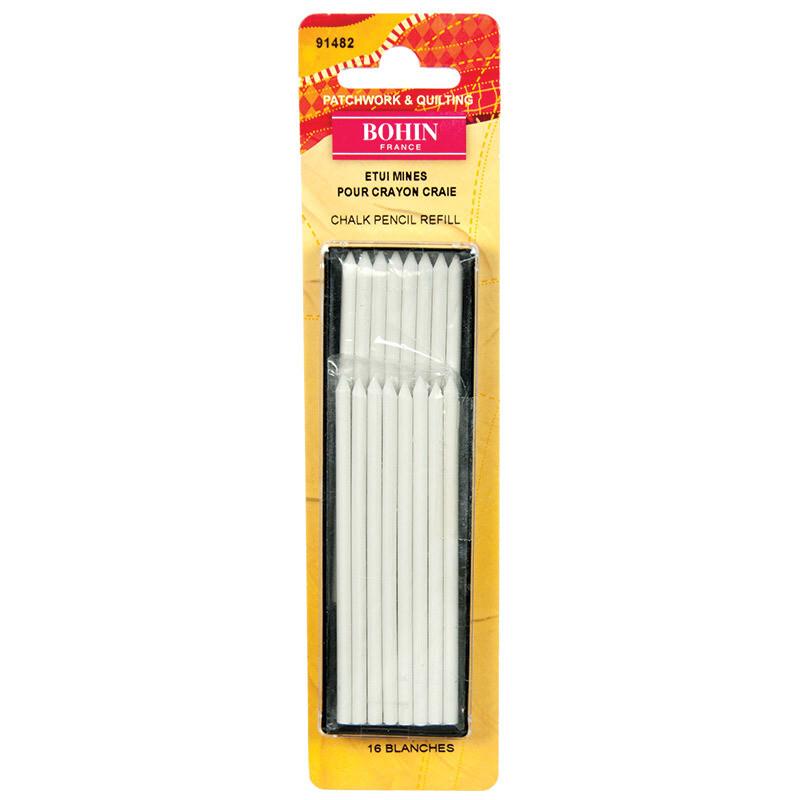 Bohin Mechanical Chalk Pencil Refill - White (91482)