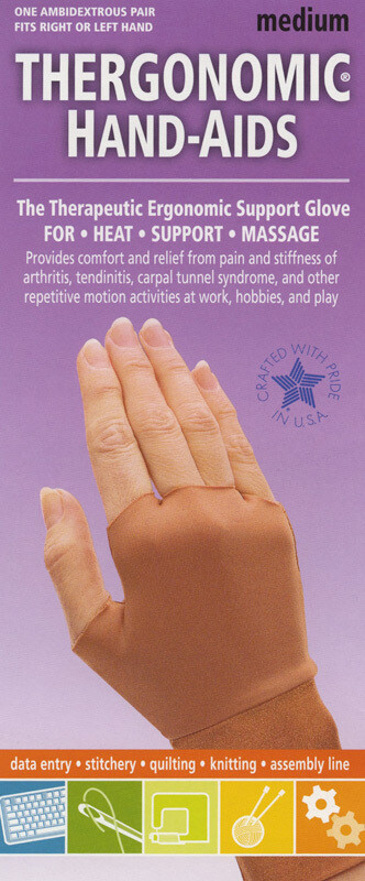 Thergonomic Hand-Aids Gloves - Medium (SC32)