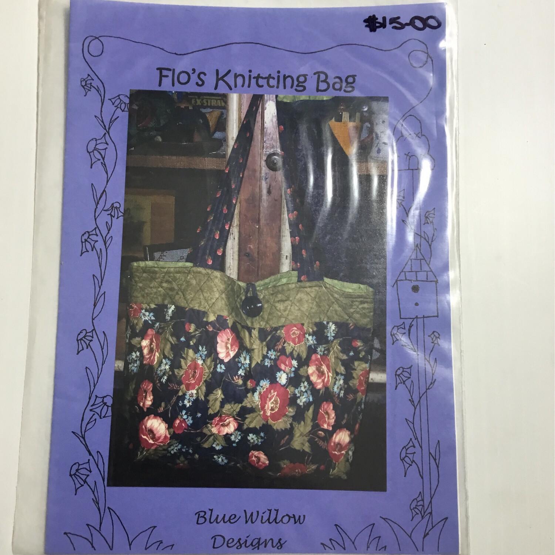 Blue Willow Designs - Flo's Knitting Bag
