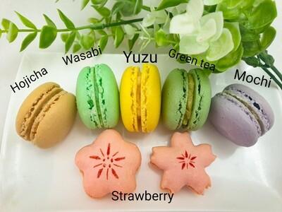 Macarons set - Japanese flavour
