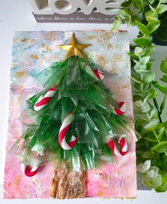 Watermelon Christmas Tree Cake (pick up ONLY)