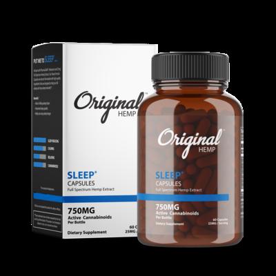 Original Hemp Sleep Capsules 750mg 60ct