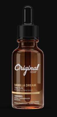 Original Hemp Vanilla Dream 1000mg Tincture (30ml)