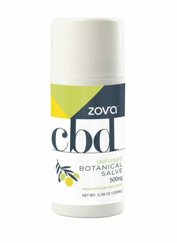 Zova CBD-Infused 500mg Botanical Salve (100ml)
