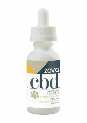 Zova Grilled Chicken 300mg Pet Tincture (30ml)