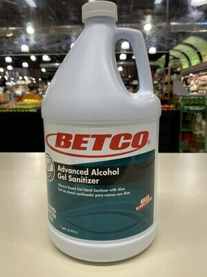 Betco Advanced Hand Sanitizer Gel (1 Gallon)