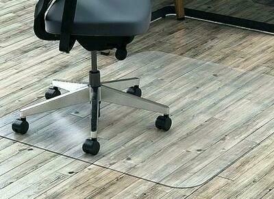 """44""""x50"""" Glass Floor Mat"""