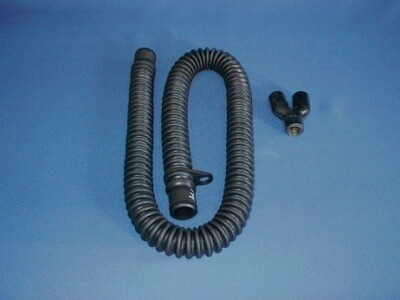Black EPDM Breathing Tube