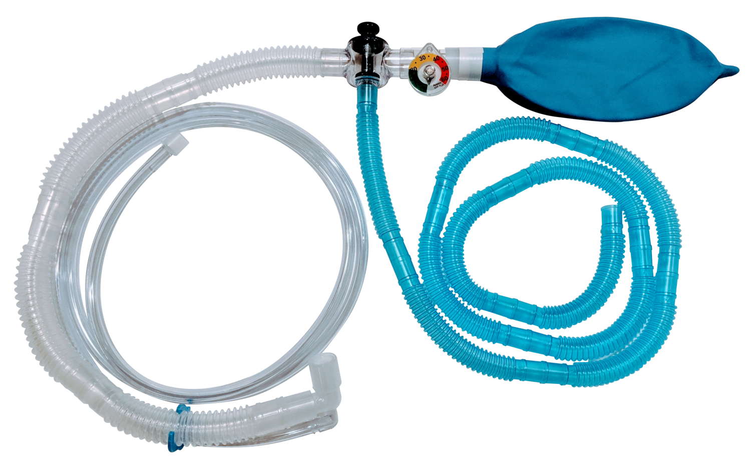 SafeSigh Non-Rebreathing System with Manometer