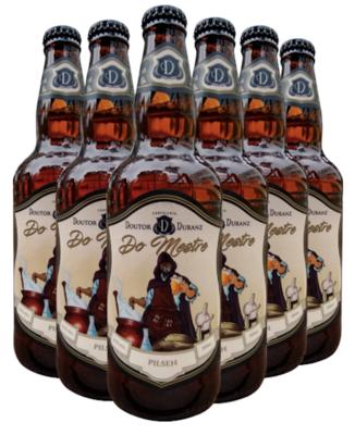 Cerveja Do Mestre - Pilsen 500ml (Caixa c/ 6un)