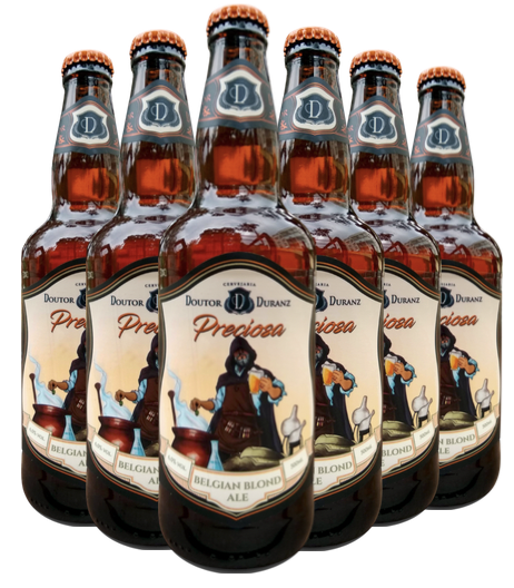 Cerveja Preciosa - Belgian Blond Ale 500ml (Caixa c/ 6un)