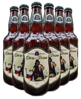 Cerveja Obra-Prima - IPA 500ml (Caixa c/ 6un)