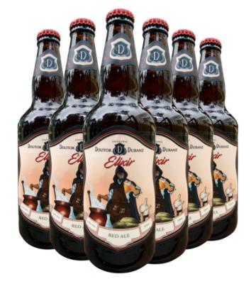 Cerveja Elixir - Red Ale 500ml (Caixa c/ 6un)