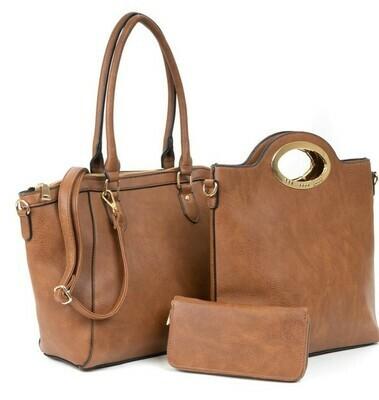 Laurie Three Piece Handbag Set